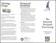 PMUG brochure
